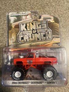 """1984 Chevrolet Silverado Monster Truck """"Samson I"""" 1:64 Model - Greenlight 49080E"""