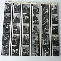 Booze n Blooze - Running Late - Vinyl LP UK 1st Press 1990 Signed Inner EX/NM