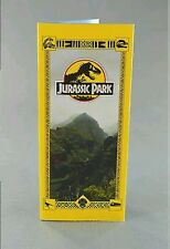 Jurassic park brochure film prop replica
