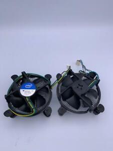 Two Intel Heatsink Fan Cooler 4 Pin Connector 4-pin Fan Connector.