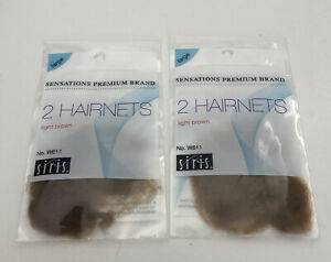 Lot of 2 2-Packs Siris Sensations Premium Brand Wavenets Large Light Brown W611