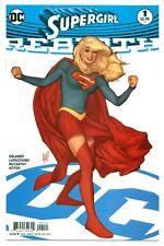 SUPERGIRL REBIRTH #1(10/16)ADAM HUGHES VARIANT CVR.(SUPERMAN/CYBORG)CGC IT(9.6)!