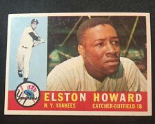 1960 Topps # 65 - Elston Howard, Near Mint