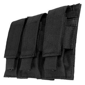 Ncstar Vism Double Stack Nylon Pistol Triple Magazine Pouch Black CVP3P2932B