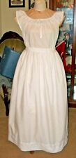 Civil War Underhoop Eyelet Trimmed Modesty Petticoat~Plus Size~Ds In Waistband