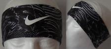 Nike Adult Unisex Printed Fury Headband 2.0 Color Black/White/White Size Osfm