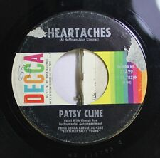 Country 45 Patsy Cline - Heartaches / Why Can'T He Be You On Decca