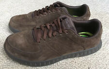 Skechers Goga Max Mens Brown Leather Shoes Size 8 Once Worn