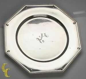 """Alvin Richmond Sterling Silver 10"""" Plate Charger Some Wear, Nice Replacement!"""