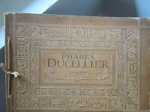 catalogue ancien pour automobiles  PHARES DUCELLIER 1911