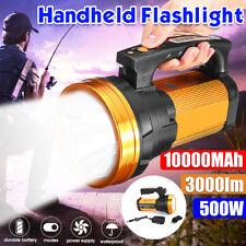 Rechargeable Super Bright LED Searchlight Handheld Portable Spotlight Flashlight