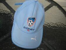 a league sydney fc supporters hat cap soccer football puma