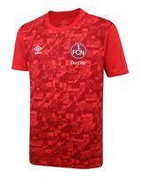 Umbro FCN Warm Up Shirt 20 21 rot 1. FC Nürnberg Training Jersey Trikot S - 3XL