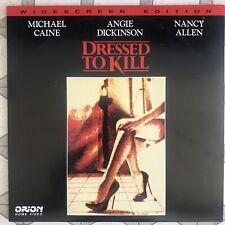 Dressed To Kill - LaserDisc