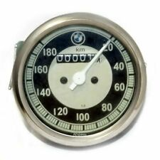 Black & Cream Face Speedometer 20-180 / 0 -180 Kmph Fits BMW Motorcycle ECs