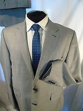 RACING GREEN -LONDON SMART CLASSIC ELEGANT MID GREY BUSINESS SUIT UK  44 EU 54