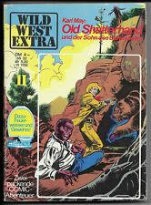 Wild West Extra Nr.11 von 1975 Karl May Old Shatterhand - Z0-1 COMIC-TASCHENBUCH
