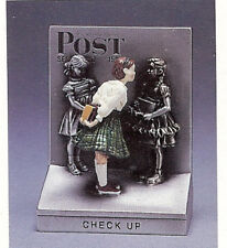 American Norman Rockwell Check Up Figurine