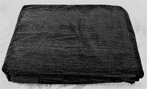 NEW FULL SIZE FUTON MATTRESS COVER . 3 side zipper. Black VELVET. MSRP $78.00