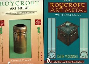 Arts Crafts Roycroft Metal Copper  - Types Marks / 2-Volume Book Set + Values