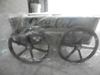 Coca Cola Bottling Co. Atlanta GA Wooden Wagon. Orig Box. By Franklin Mint EUC