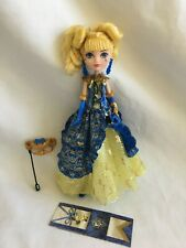 """Monster High 11"""" Doll EVER AFTER HIGH BLONDIE LOCKS GOLDIE THRONECOMING DAY"""