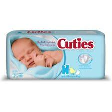 Prevail Cuties Baby Diapers Newborn Heavy Absorbency -Bag of 42