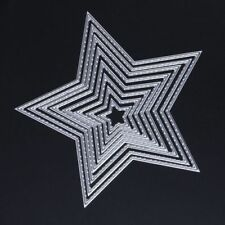 Craft-House '5 Point Star' 8 pcs Nesting Dies