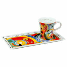 Goebel 2-tlg. Espressotassenset Lebensfreude Kunst & Kaffee