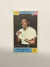 1969 Panini CARD Emile Griffith Campioni Dello Sport #358 Very Rare New !!!