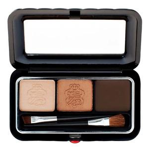 Borghese Satin Shadow Milano Duo  Gel Eyeliner & EyeShadow Duo Belleza Brown Box