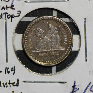 Greece 1893 /2 1/2 Real silver lg date round top 3 G0082 combine shipping