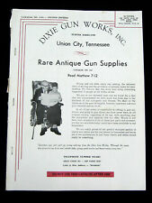 Vintage Early 60s DIXIE GUN WORKS CATALOG #114A Second Edition