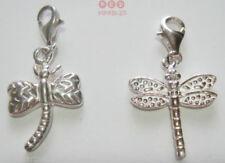 Charms y pulseras de charms de bisutería color principal plata