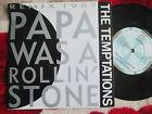 "Temptations Papa Was A Rollin' Stone (Remix 1987)ZB 41431 UK Vinyl 7"" Single 45"