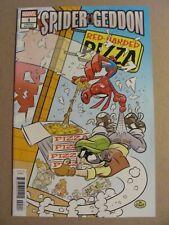 Spider-Geddon #1 Marvel 2018 Series Spider-Man Spider-Ham Variant 9.6 NM+