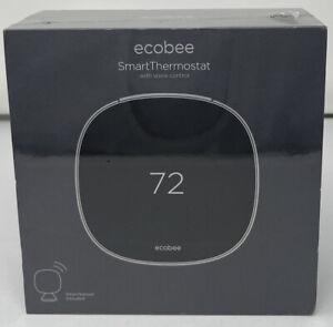 ecobee 5 Smart Thermostat Voice Control + Smart Sensor (5th Gen, EB-STATE5-01)