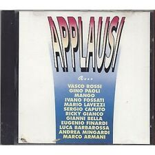 Applausi - VASCO ROSSI  PAOLI MANGO FOSSATI LAVEZZI GIANCO - CD 1992 SIGILLATO