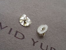 Silver Medium Earring Back Pair of David Yurman Sterling