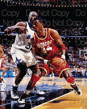 Hakeem Olajuwon signed Houston Rockets 8X10 photo picture poster autograph RP