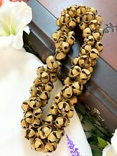 More details for 15 mm brass ghungroo bells charms handmade loose pet collar bells pet accessory