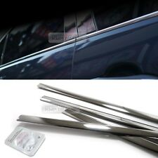 Stainless Steel Chrome Window Under Trim Molding 4P For KIA 2009-12 Cerato Forte