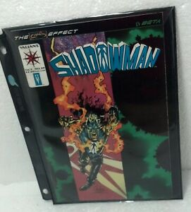 October 1994 SHADOWMAN comic book Valiant NM/VF condition Ultra-Pro sleeve