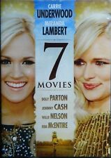 NEW 7 Movie 2 DVD America's Favorite Country MUSIC SINGER Stars CARRIE UNDERWOOD