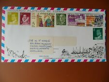 cover Alicante Spain Dec.24th 1979(?) addressed Herts.England used.