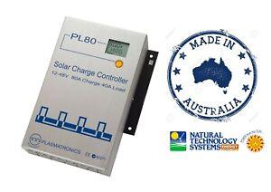 Plasmatronics PL80 80A Solar Charge Controller