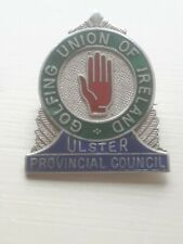 Irish Silver Badge  Golfing Union Of Ireland .Ulster Provincal Council