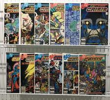 Crisis On Infinite Earths #1-12 Complete Set Lot - DC Comics 1985