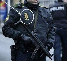 FANCY DRESS COSTUME PROP: Danish Police Politiet νeΙcrο Shoulder Sleeve Insignia