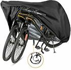 Bike Cover for 2 or 3 Bikes - Outdoor Waterproof 420D-XL for 1 or 2 bikes